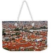 Looking Over Prague Weekender Tote Bag