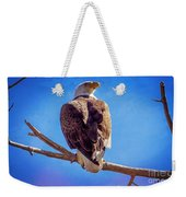 Looking Right Weekender Tote Bag by Bob Hislop