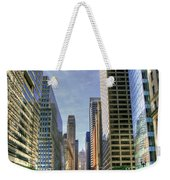 Looking South On Lasalle Weekender Tote Bag