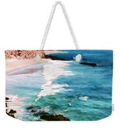 Looking South On The Northern California Coast Weekender Tote Bag