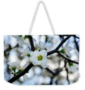 Looking Through The Blossoms Weekender Tote Bag