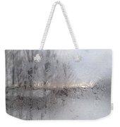 Looking Through The Frost IIi Weekender Tote Bag