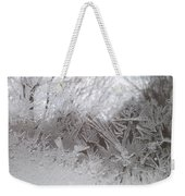 Looking Through The Frost Iv Weekender Tote Bag