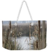 Looking Through The Reeds Weekender Tote Bag
