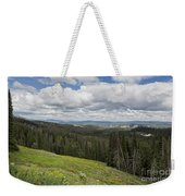 Looking To The Canyon - Yellowstone Weekender Tote Bag