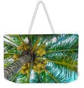 Looking Up A Coconut Tree Weekender Tote Bag
