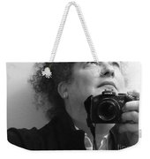 Looking Up - B/w Weekender Tote Bag