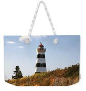 Looking Up From The Dunes At West Point Light Weekender Tote Bag