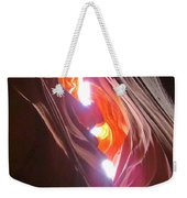 Looking Up In Antelope Canyon Weekender Tote Bag