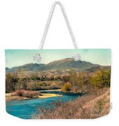 Looking Up The Payette River Weekender Tote Bag