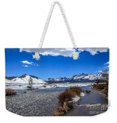 Looking Up The Salmon River Weekender Tote Bag
