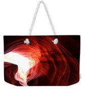 Looking Up Through Antelope Canyon Weekender Tote Bag