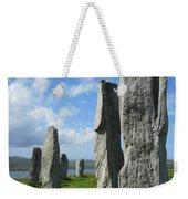 Looking West At Callanish Weekender Tote Bag