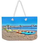 Looks And Feels Like Summer Weekender Tote Bag
