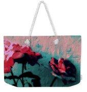 Looks Like Painted Roses Abstract Weekender Tote Bag