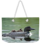 Loon Chick - Big Yawn Weekender Tote Bag