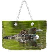 Loon Chicks - Best Buddies Weekender Tote Bag