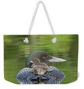 Loon Chicks -  Nap Time Weekender Tote Bag