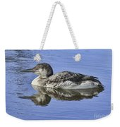 Loon On Vacation Weekender Tote Bag