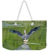 Loon Wings Weekender Tote Bag