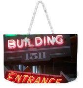 Loop Building 1511 Weekender Tote Bag