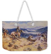 Loops And Swift Horses Are Surer Then Lead Weekender Tote Bag