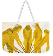 Loose Ball Third In Stickball Series Weekender Tote Bag