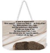 Loosely Speaking Weekender Tote Bag