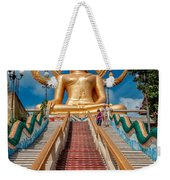 Lord Buddha Weekender Tote Bag