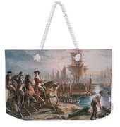 Lord Howe Organizes The British Evacuation Of Boston In March 1776 Weekender Tote Bag by English School