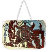 Lord Of The Dance Weekender Tote Bag by Gloria Ssali