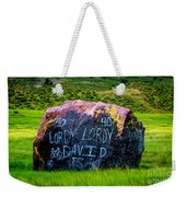 Lordy Lordy Weekender Tote Bag by Jon Burch Photography