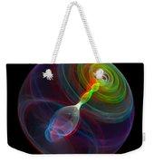 Lorenz Sphere - Use Red/cyan Filtered 3d Glasses Weekender Tote Bag