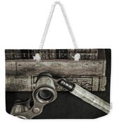 Lorgnette With Books Weekender Tote Bag