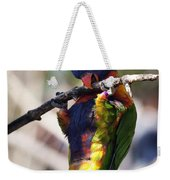 Lorikeet Bird Weekender Tote Bag