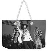Lorrie Morgan Pam Tillis And Carlene Carter Weekender Tote Bag