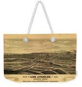 Los Angeles 1877 Weekender Tote Bag