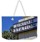 Los Angeles Union Station Weekender Tote Bag