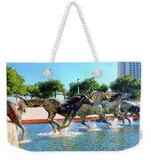 Los Colinas Mustangs 14698 Weekender Tote Bag