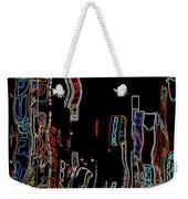 Losing Equilibrium - Abstract Art Weekender Tote Bag