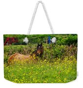 Lost In Buttercups Weekender Tote Bag