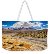 Lost In The Bolivian Desert Framed Weekender Tote Bag