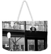 Lost Lake Black And White Weekender Tote Bag