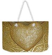 Lost My Golden Heart Weekender Tote Bag
