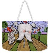 Lost Tooth Weekender Tote Bag by Anthony Falbo