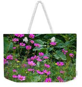 Lots Of Cosmos Weekender Tote Bag