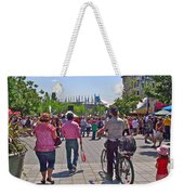 Lots Of People In Old Montreal-qc Weekender Tote Bag