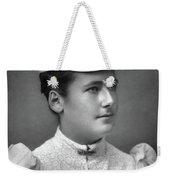 Lottie Dod (1871-1960) Weekender Tote Bag
