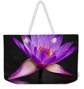 Lotus Weekender Tote Bag by Adam Romanowicz