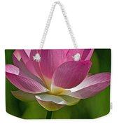 Lotus Bloom Weekender Tote Bag